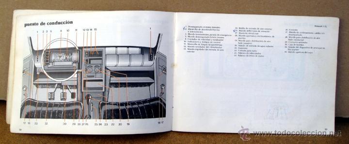 Coches y Motocicletas: MANUAL INSTRUCCIONES RENAULT 5 DEL AÑO 1982 - Foto 2 - 133859805