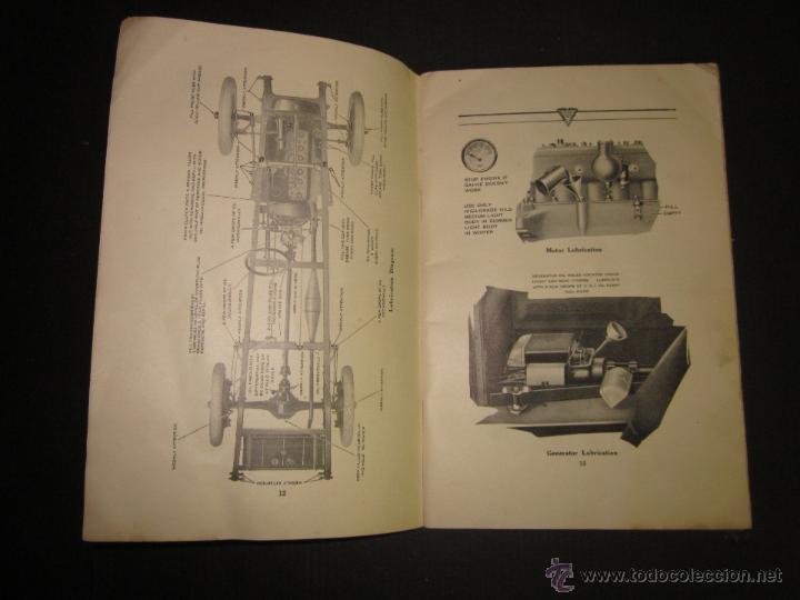 Coches y Motocicletas: HUDSON SUPER SIX - LIBRO INSTRUCCIONES - (V-1301) - Foto 6 - 45862533