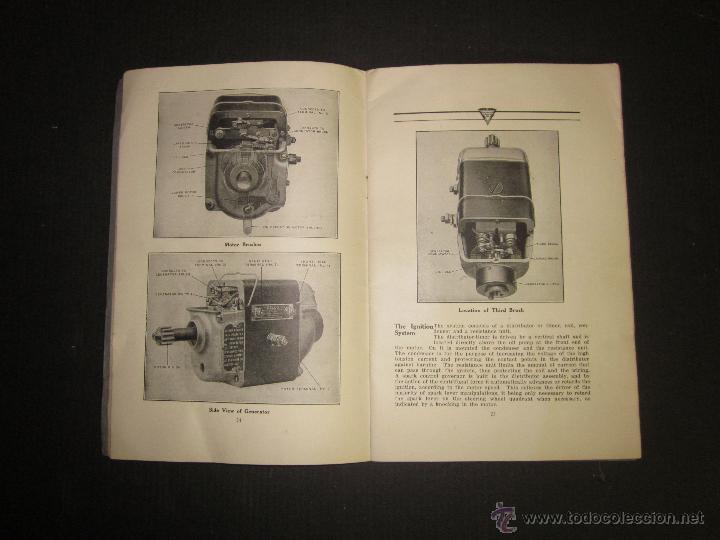 Coches y Motocicletas: HUDSON SUPER SIX - LIBRO INSTRUCCIONES - (V-1301) - Foto 10 - 45862533