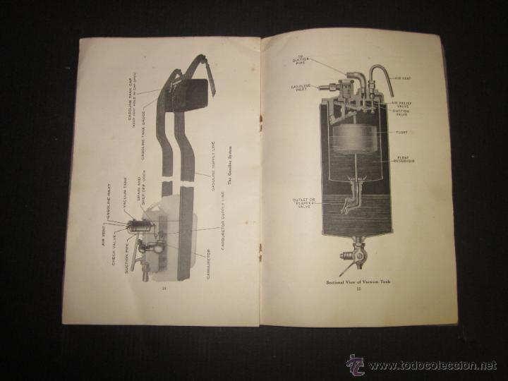 Coches y Motocicletas: HUDSON SUPER SIX - LIBRO INSTRUCCIONES - (V-1301) - Foto 14 - 45862533