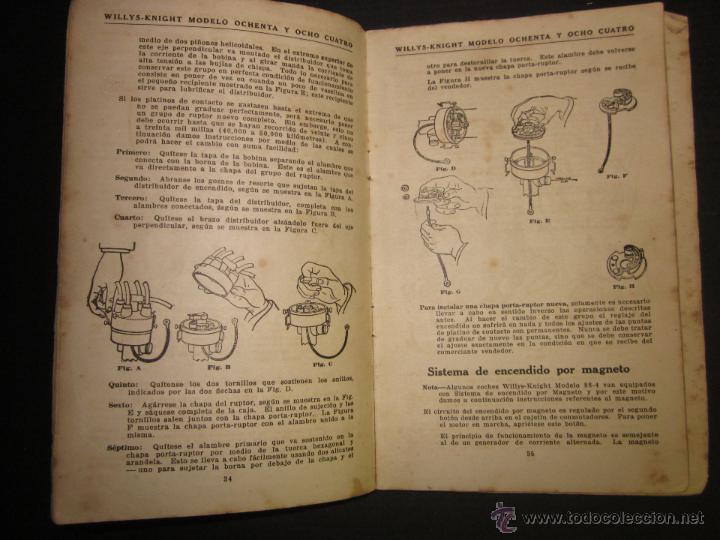 Coches y Motocicletas: WILLYS - LIBRO INSTRUCCIONES - (V-1308) - Foto 3 - 45862737