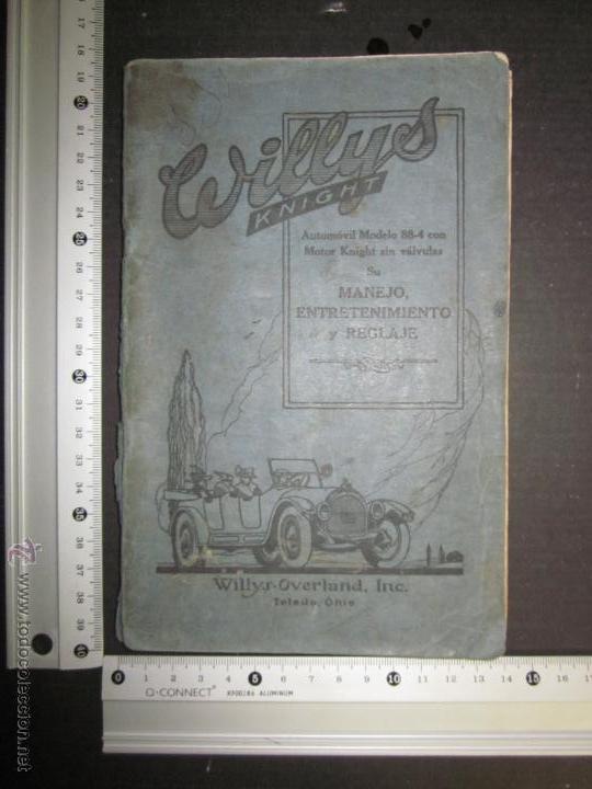 Coches y Motocicletas: WILLYS - LIBRO INSTRUCCIONES - (V-1308) - Foto 5 - 45862737