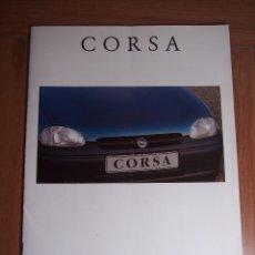 Coches y Motocicletas: CATALOGO OPEL CORSA AÑO 1993. Lote 45875643