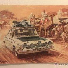 Coches y Motocicletas: CATALOGO CASTROL 1963 COHE MOTOS RALLYE EXITOS DE CASTROL EN LOS CAMPEONATOS. PINTURAS DE MICHAEL TU. Lote 45955909