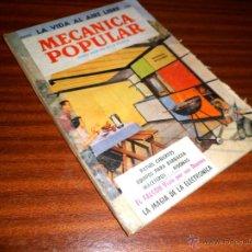 Coches y Motocicletas: REVISTA MECÁNICA POPULAR. JUNIO 1960. Lote 45995214
