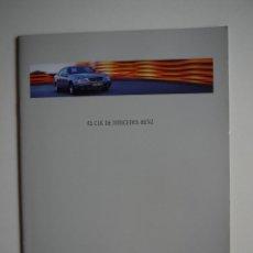 Coches y Motocicletas: CATÁLOGO COMERCIAL MERCEDES-BENZ CLK 1997. Lote 46153321