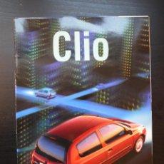 Coches y Motocicletas: CATÁLOGO COMERCIAL RENAULT CLIO II ESPAÑOL 1998. Lote 46208903