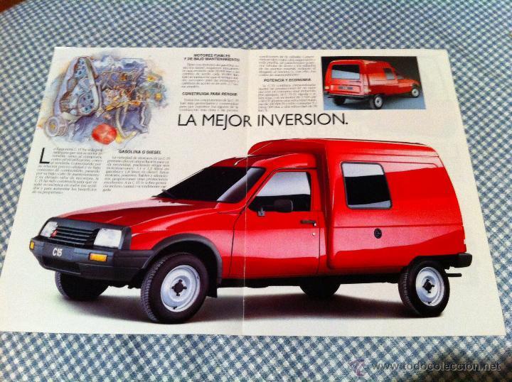 Coches y Motocicletas: Catalogo Citroen C15 año 1989 - Foto 3 - 46256810