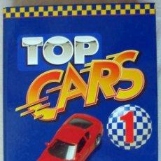 Coches y Motocicletas: TOP CARS 1 - 61 FICHAS TÉCNICAS Y 40 FICHAS TRIPLES DESPLEGABLES - VER DESCRIPCIÓN. Lote 46371030