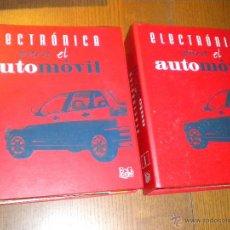 Coches y Motocicletas: ELECTRICIDAD PARA EL AUTOMOVIL 1995 , 52 ENTREGAS EN FICHAS F&G JULIO GOÑI / DOS ARCHIVADORES. Lote 46403986