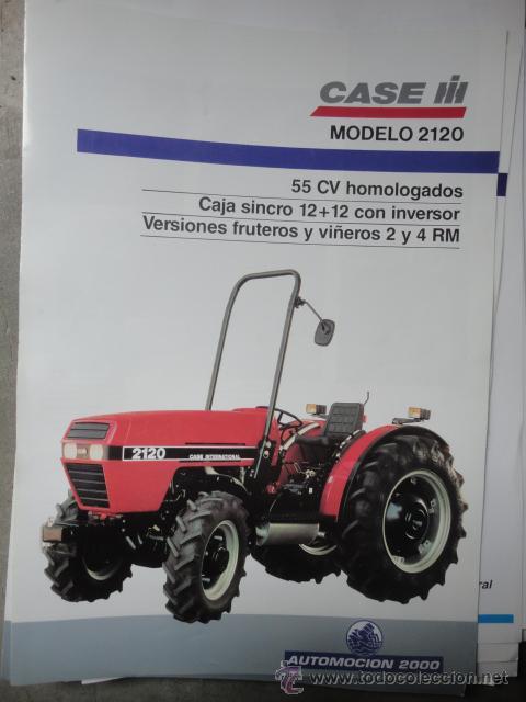 Catalogo tecnico tractor case modelo 2120 comprar for Catalogo case