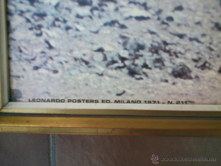Coches y Motocicletas: POSTER ORIGINAL DE MOTOCROS.AÑOS 70S.ENMARCADO EN MADERA;90X67CM - Foto 6 - 46518120