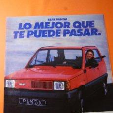 Coches y Motocicletas: PUBLICIDAD 1985 - COLECCION COCHES - SEAT PANDA. Lote 46561637