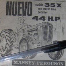 Coches y Motocicletas: MASSEY FERGUSON 35X, CON MOTOR PERKINS DIESEL 44HP.. Lote 46567487