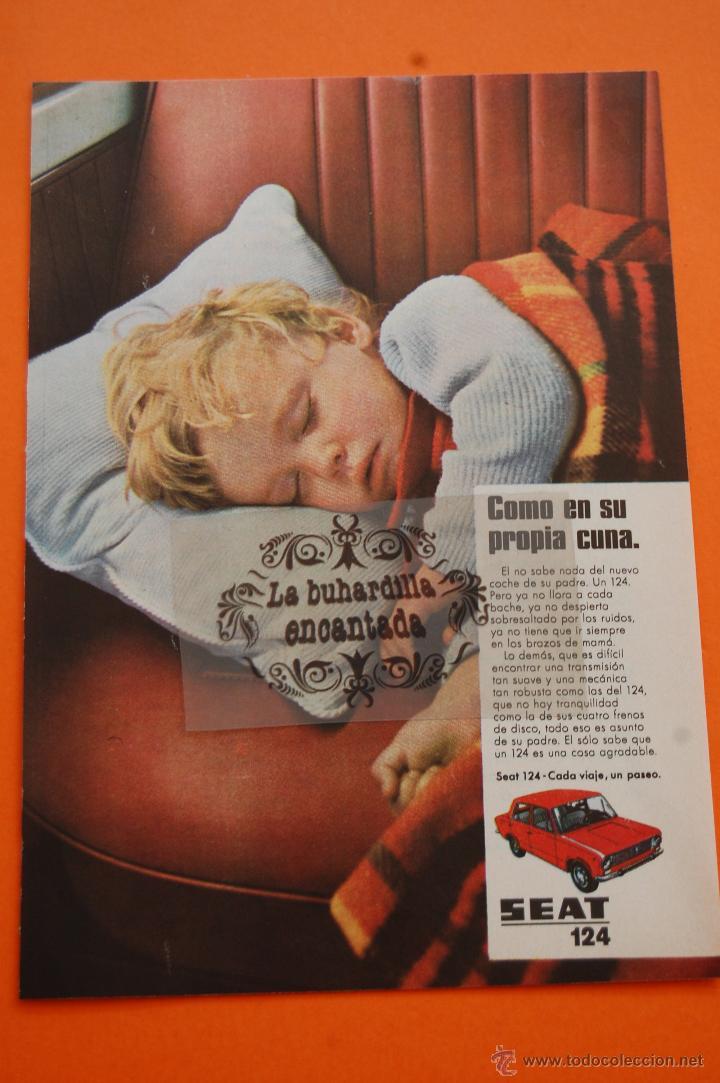 PUBLICIDAD 1970 - COLECCION COCHES - SEAT - 124 (Coches y Motocicletas Antiguas y Clásicas - Catálogos, Publicidad y Libros de mecánica)
