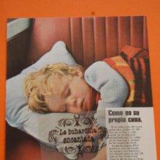 Coches y Motocicletas: PUBLICIDAD 1970 - COLECCION COCHES - SEAT - 124. Lote 46600603