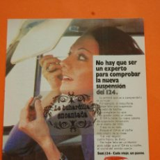 Coches y Motocicletas: PUBLICIDAD 1971 - COLECCION COCHES - SEAT - 124. Lote 46600734