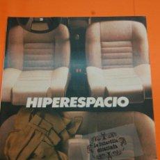 Coches y Motocicletas: PUBLICIDAD 1986 - COLECCION COCHES - SEAT - MALAGA. Lote 49739662