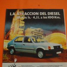 Coches y Motocicletas: PUBLICIDAD 1982 - COLECCION COCHES - TALBOT - HORIZON DIESEL. Lote 46603489