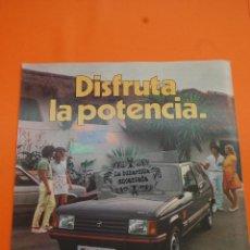 Coches y Motocicletas: PUBLICIDAD 1982 - COLECCION COCHES - TALBOT - SAMBA SPORT. Lote 46603496