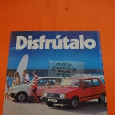 Coches y Motocicletas: PUBLICIDAD 1982 - COLECCION COCHES - TALBOT - SAMBA. Lote 46603517