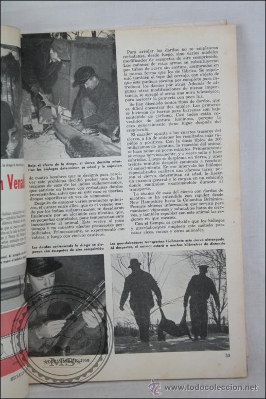 Coches y Motocicletas: Revista Mecánica Popular - Diciembre 1958 - Cosechas Atómicas, Especial Casas, Buick, Cadillac... - Foto 4 - 46687076