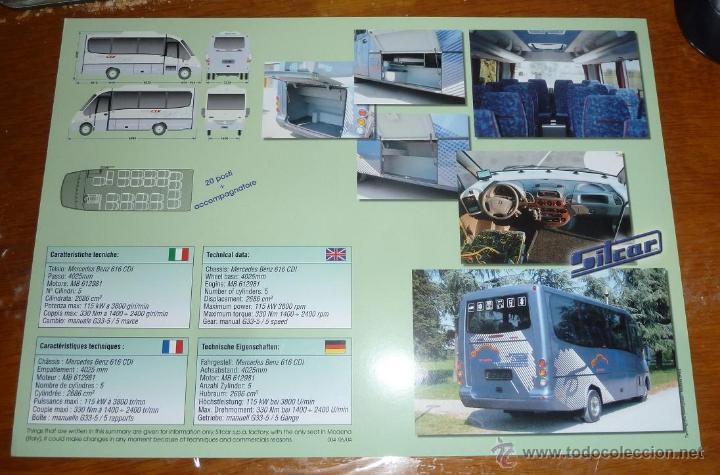 Coches y Motocicletas: Catalogo publicitario autobus Sitcar Strike base Mercedes Benz Sprinter 616 CDI autocar - Foto 2 - 46706682