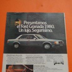 Coches y Motocicletas: PUBLICIDAD 1980 - COLECCION COCHES - FORD - NUEVO GRANADA 1980. Lote 90661515