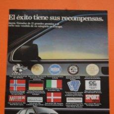Coches y Motocicletas: PUBLICIDAD 1983 - COLECCION COCHES - FORD - SIERRA. Lote 46718877