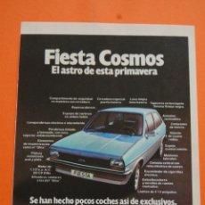 Coches y Motocicletas: PUBLICIDAD 1979 - COLECCION COCHES - FORD - FIESTA COSMOS. Lote 46718905