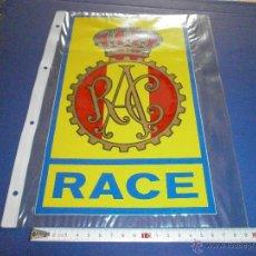 Coches y Motocicletas: PEGATINA RACE. Lote 46924644