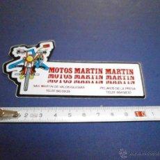Coches y Motocicletas: PEGATINA MOTOS MARTIN MARTIN. Lote 46925310