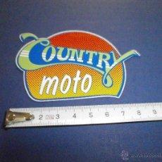 Coches y Motocicletas: PEGATINA CAUNTRY MOTO. Lote 50008160