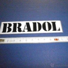 Coches y Motocicletas: PEGATINA BRADOL. Lote 46926208