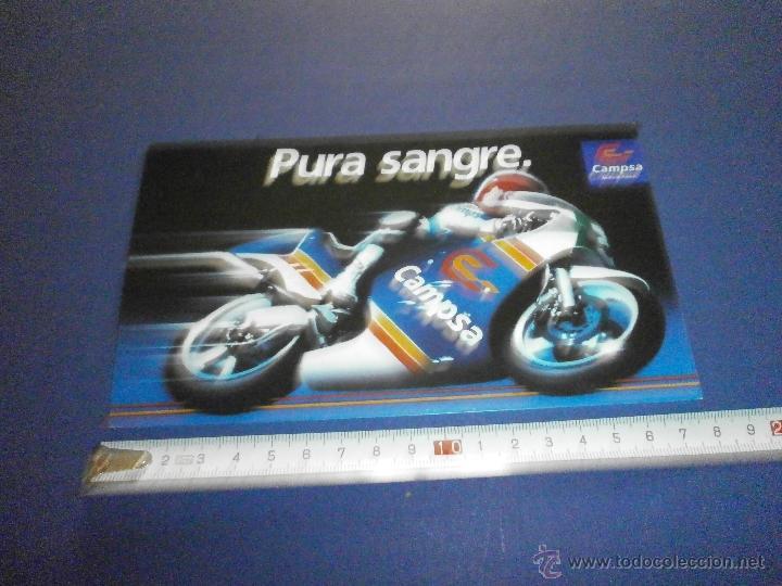 PEGATINA CAMPSA (Coches y Motocicletas Antiguas y Clásicas - Catálogos, Publicidad y Libros de mecánica)