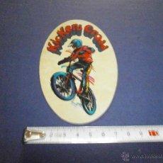 Coches y Motocicletas: PEGATINA KICKERS CROSS. Lote 46926504