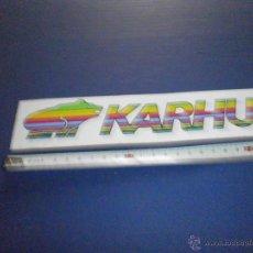 Coches y Motocicletas: PEGATINA KARHU. Lote 46926586