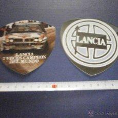 Coches y Motocicletas: PEGATINAS LANCIA. Lote 46926647
