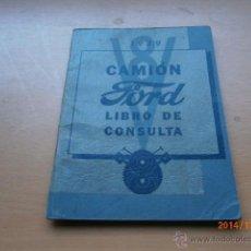 Coches y Motocicletas: MANUAL CAMIONES V8 FORD 1939. Lote 47006058