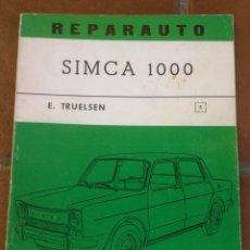 Coches y Motocicletas: REPARAUTO Nº 5 - SIMCA 1000 - MANUAL TALLER - 1967 . Lote 47136742