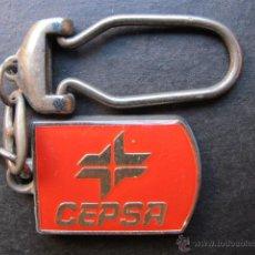 Coches y Motocicletas: LLAVERO ANTIGUO CEPSA RED DE ESTACION DE SERVICIOS. Lote 47166962