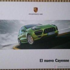 Coches y Motocicletas: CATÁLOGO PORSCHE CAYENNE GTS. ABRIL 2012. EN ESPAÑOL. Lote 89847987