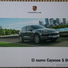 Coches y Motocicletas: CATÁLOGO PORSCHE CAYENNE S DIESEL. SEPTIEMBRE 2012. EN ESPAÑOL. Lote 47296103