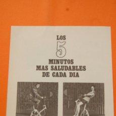 Coches y Motocicletas: PUBLICIDAD 1972 - COLECCION COCHES - MOTOS - MOBYLETTE - LA CYCLOSTATIC. Lote 47358775