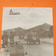 Automobili e Motociclette: PUBLICIDAD 1968 - COLECCION COCHES - MOTOS - VESPA. Lote 167046233