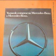 Coches y Motocicletas: PUBLICIDAD 1979 - COLECCION COCHES - MERCEDES BENZ - COMPRE A MERCEDES BENZ. Lote 47364913