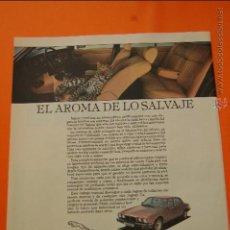 Coches y Motocicletas: PUBLICIDAD 1982 - COLECCION COCHES - JAGUAR LEYLAND ESPAÑA - XJ6 XJ12 XJS. Lote 47364939