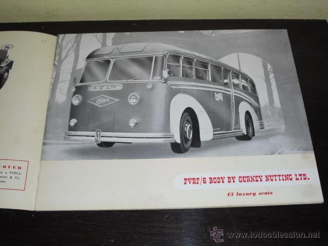 Coches y Motocicletas: FODEN - PASSENGER VEHICLES - CATÁLOGO ORIGINAL - 1962- - Foto 2 - 47366846