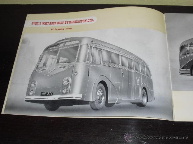 Coches y Motocicletas: FODEN - PASSENGER VEHICLES - CATÁLOGO ORIGINAL - 1962- - Foto 4 - 47366846