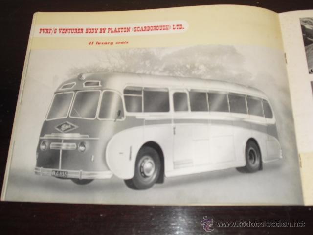 Coches y Motocicletas: FODEN - PASSENGER VEHICLES - CATÁLOGO ORIGINAL - 1962- - Foto 8 - 47366846